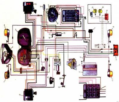 принципиальная схема зажигания